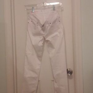 Lilly Pulitzer White Skinny Jeans size 2